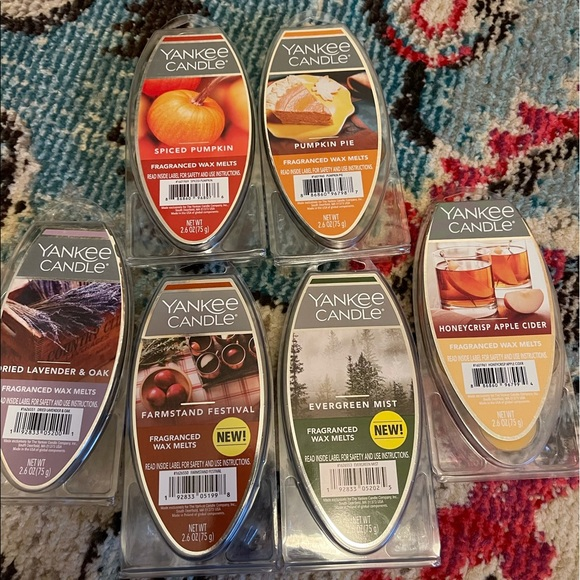 Yankee candle wax melt bundle